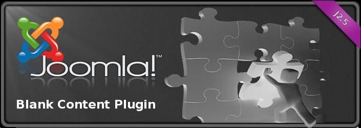Joomla! Blank Content Plugin